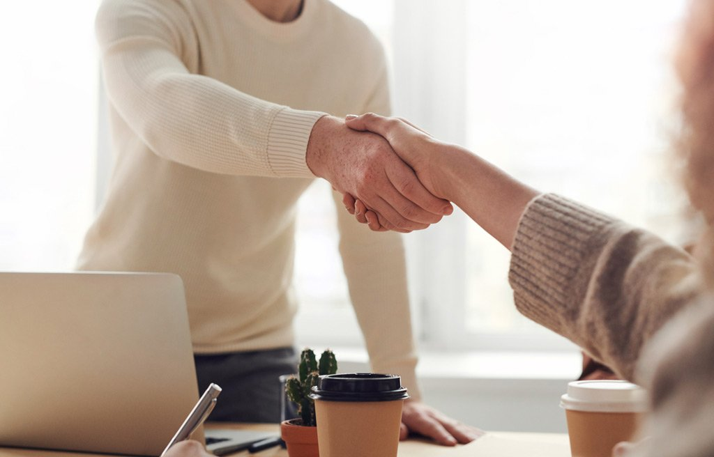Hand shake - Photo by fauxels from Pexels